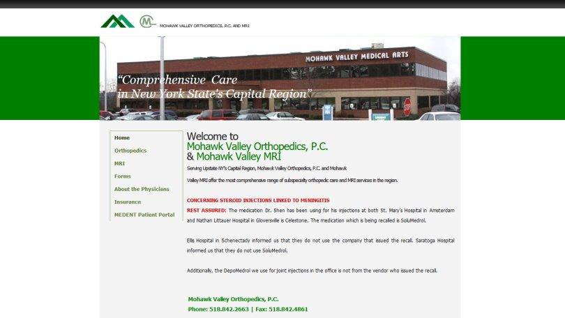Mohawk Valley Orthopedics & Mohawk Valley MRI